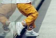 Chinos and shorts