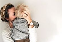 Mommy Moments / We're inspired by these Supermom action shots, and hope you will be, too!