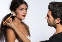 Dramatic makeup. / Maquillaje de pasarela, focos, cine, teatro, ... / by Maite Rubio Hortells