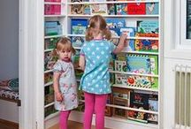 Creative Kids' Spaces / Use these pins to gain inspiration and organization for kids' rooms! Whether you're looking to create a unique space for your own kids, nieces, nephews, or grandchildren these ideas are sure to please!