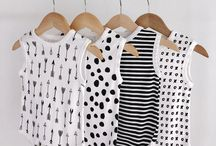 Monochrome Kid Style / Like it black and white?  Check out these goods for your baby boy or girl!