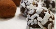 Chocolate Treats / Chocolate desserts that are delicious and low fat.