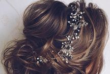 Bridal Hair / Inspiration for bridal hair.