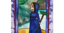 Pagan Greetings by Fairychamber / Pagan greeting cards and postcards with Fairychamber Designs. http://www.fairychamber.com