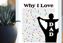 Gifts for Dad - Birthday & Father's Day / Celebrate Dad and give him a gift that shows how much you care. Here you'll find birthday gifts, Father's Day gifts, and special gifts for Dad. #diy #homemade #crafts #dadgifts