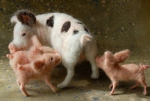 Piggies WeeWeeWee All The Way Home❤ / Gorgeous creatures! Intelligent ... i hate that people kill and eat them. / by Jayne Logan