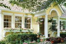 Styles I like: Exteriors / by Betsy Spencer