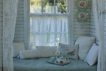 A Summer Cottage / A potpourri of indoor/outdoor vignettes that make for a relaxed way of living during the hot summer months.  / by Betsy Spencer