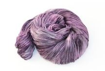 Hand-dyed yarns / Gorgeous hand-dyed and handpainted yarns and threads