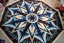 Quilts : Mariners Compass