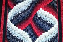 Quilts : Bargello