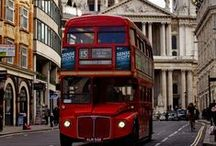 London, London, London / For my love of red buses, british royalty, underground fashion, good music, trendy places, old architecture, Mary Poppins, the 60s, mod fashion, fashion designers, sense of british humour, great shopping areas, ginger beer, museums, great writers and hot cups of tea
