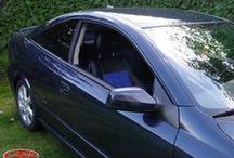 Opel Astra G - Wildleder-Optik Blau / Welche Farbe hat der Himmel? Welche Farbe hat das Meer? Und welche Farbe dominiert bei diesen maßgeschneiderten #Autositzbezügen für #Opel #Astra G? Mehr Information über das Design und weitere Kundenfotos von anderen Designs für Astra G findest Du in unserer Galerie unter http://www.seat-styler.de/opel-astra-g/  Ein schönes langes Wochenende wünscht Dir das Seat-Styler-Team.