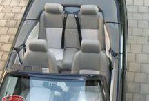 BMW e36 Cabrio / Wir haben auch Maß #Sitzbezüge für ältere Fahrzeuge im Programm. Der #BMW e36 #Cabrio erfreut sich großer Beliebtheit als Sammlerstück. Mit Seat-Styler lassen Sie die Sitze im neuen Glanz erscheinen, hier einige Kundenfotos:
