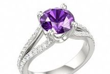 February Amethyst / While traditionally purple, the birthstone of February has been found in nearly every color of the rainbow and you can find them all at Royal Jewelers!