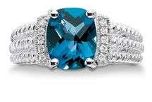 December Topaz / There are plenty of shades of topaz that you can shower your December-born loved ones with!