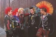 Punk/ Skin/ Oi! / Punks, Hippies, Cyber Goths, Steampunk, Metalheads, Goth, Pastel Goth, Lolita... i love all people :3