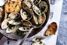 SEAFOOD RECIPES GARLIC / Easy, quick and healthy fish & shellfish recipes and ideas with garlic. Often gluten free and paleo diet friendly. Enjoy!
