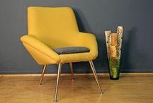 Seating / Vintage seating, Mid Century modern, armchair, Eames era
