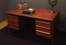 Storage / Vintage furniture, credenza, desk, mid century modern, eames era