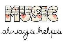Music / Anything and Everything Music Stuff. / by Alice9704