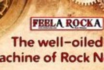 www.feelarocka.com (Rock webzine) / FeelA RockA - The Rock webzine