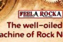 www.feelarocka.com (Rock webzine) / FeelA RockA - The Rock webzine