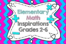 Elementary Math Inspirations (grades 2-6) / BOARD RULE: For every 1 product pin (either cover, page from the resource, GIF, long pin, or your pin in action) please give at least 4 related resource pins.   Happy Pinning! Email sciencegirllessons@gmail.com for more info.