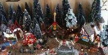 Christmas village / Inspiration for a Christmas village.