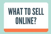 What to Sell Online? / What to Sell Online? Do you have a talent or creative streak waiting to be discovered. You will find a market for almost anything creative online.