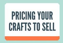 Pricing Your Crafts To Sell / THIS CAN BE ONE OF THE TOUGHEST decisions crafters make. What the heck to charge for their work. This board is all about pricing your crafts to sell.