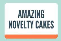 Amazing Novelty Cakes / Talented Cake Makers, novelty cakes, birthday cake ideas