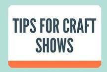 Tips for Craft Shows / Tips for Craft Shows will help you make the most out of your upcoming shows, don't sit out there in the heat or the rain for hours and hours, optimise your stall and your products so you actually make some money! Sound good?