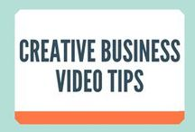 Creative Business Video Tips / Straight from the Crafter Coach blog - Creative business video tips!