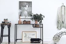 Apartment Design / Styling rental places and small spaces.