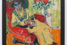 """Die Brücke / Expressionist Painting of the Artist Group """"Die Bruecke"""""""