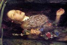 Pre-Raphaelites / The Pre-Raphaelite Brotherhood in 19th Century England