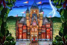 Inspirações Livros de colorir / Desenhos Coletados para Inspiração