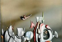 Yves Tanguy / Painting and Graphics by Surrealist Yves Tanguy