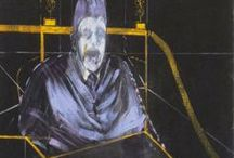 Francis Bacon / Painting by Francis Bacon