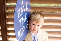 for the ring bearers...
