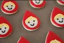 Little Red Riding Hood Party / Little red riding hood kids birthday party food and craft