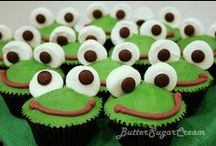 Frog Party / Frog party craft and food ideas for kids parties