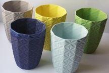 CERAMIC - votives, pots & bowls
