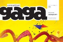 July/Aug 2011 / Issue with the best insights from some of the top space designers and advertising tips from Happy Creatives with some exclusive mix of media experiments in type and digital art.
