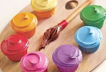 Cupcake / Good ideas for easy ways to decorate them. Some not so easy..but look amazing. / by Amanda A