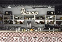 Commercial inspiration / Commercial Interiors from around the world that have caught our eye, includes retail and hospitality