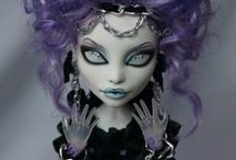 Doll customizing / Repaints by others, makeup and hair
