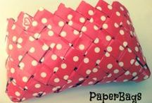 The PaperBags / Handmade Bags - made of Paper - made in Greece