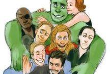 Avengers Marvel / Fangirl !!! I dont like. I 'obsess'.